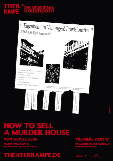 How to sell a murder house | backsteinhaus produktion | Tanztheater // Physical Theatre // Dance Theatre