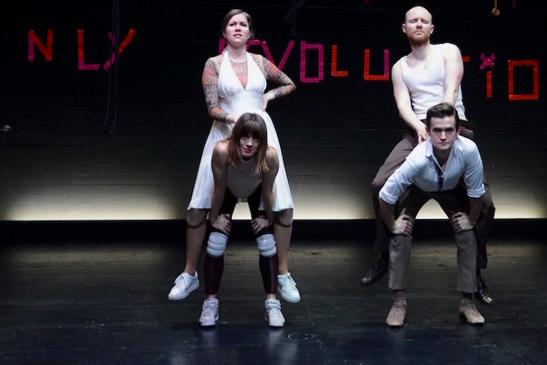 Abfall der Welt | backsteinhaus produktion | Tanztheater // Physical Theatre // Dance Theatre